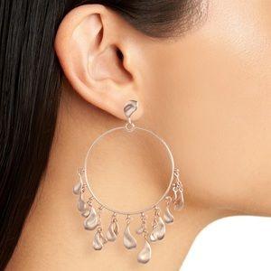 Kendra Scott Natasha Hoop Earrings in Rose Gold